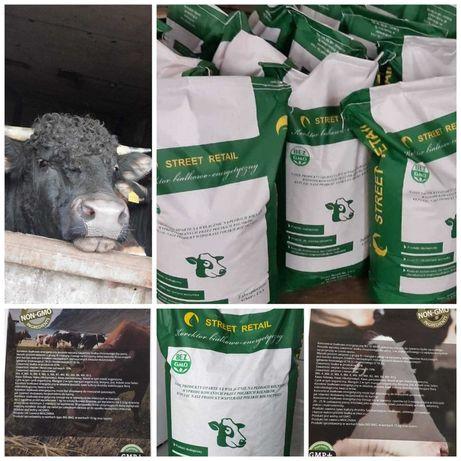 Koncentrat białkowo energetyczny dla bydła opasowego