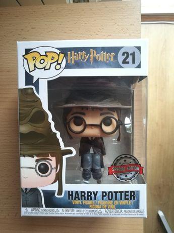 Funko pop Harry Potter #21 z tiarą przydziału exclusive
