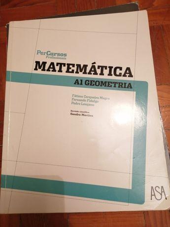 Livros em 2° de matemática - profissional A1 e A3