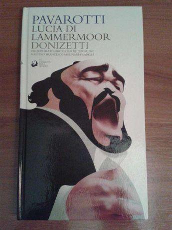pavarotti lucia di lammermoor donizetti livro cd