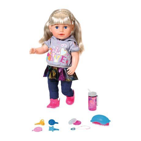 Кукла Baby Born Нежные объятия Сестричка модница Zapf 824603