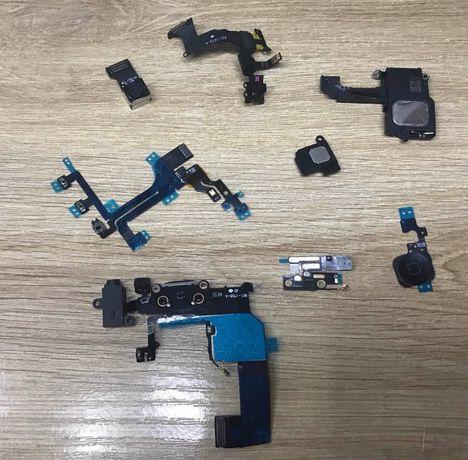 Айфон Iphone 5c запчасти камера шлейф динамик антена конектор кнопка