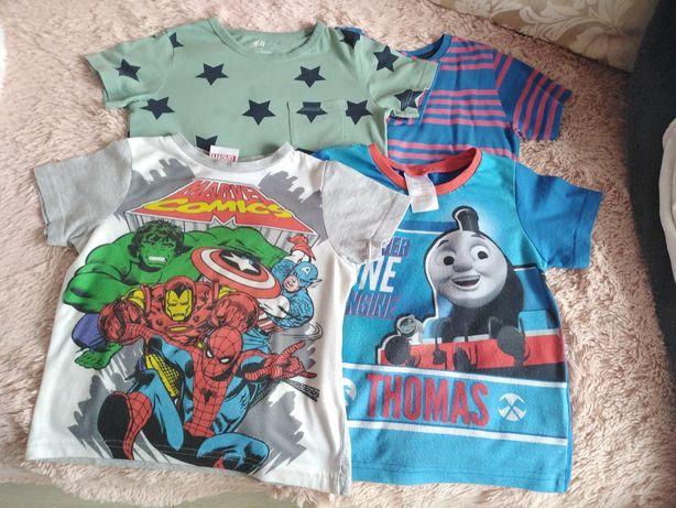 4 t-shirt 2-3 lata
