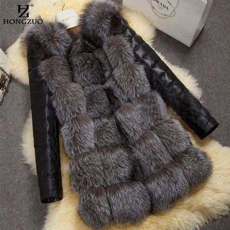 Меховая жилетка, курточка, шуба ЭКО мех, трансформер, хутро