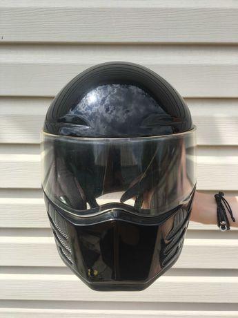 Bandit Fighter ECE Black Helmet  Шлем размер М