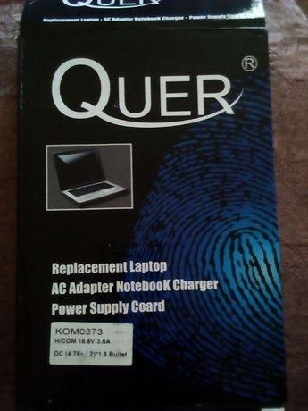 Zasilacz Quer do laptopa, notebooka. Nowy