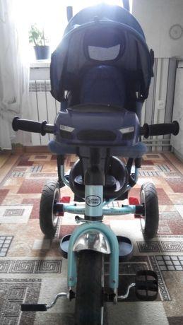 Детский велосипед с надувными колесами