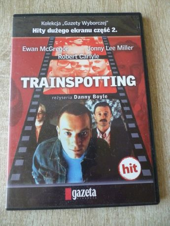 """Trainspotting""- film DVD 1996r. -Danny Boyle"