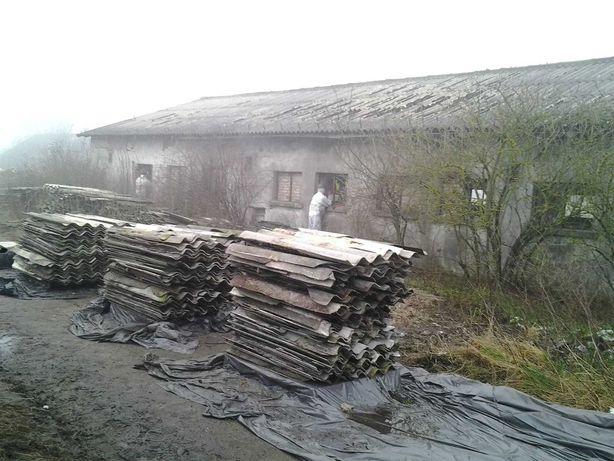 Usuwanie eternitu demontaż azbestu transport utylizacja