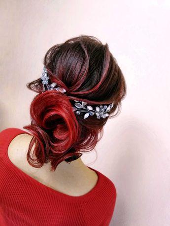 Свадебные, вечерние прически, курсы( обучения) причесок,косы,украшени