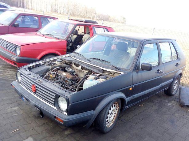 Na Części VW GOLF II Mk2 1.6TD 60KM 1991r 5d Demontaż Rozbiórka