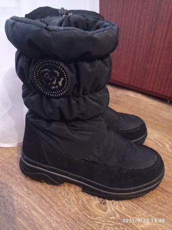 Зимние сапоги weestep для девочки