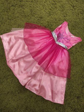 Платье на девочку 3-6лет.