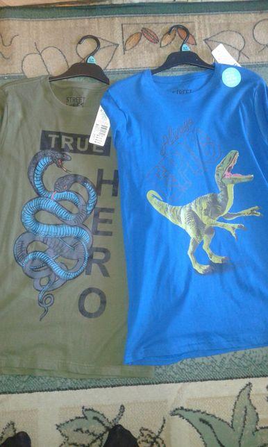 Nowe t-shirty 14-15 lat 170cm
