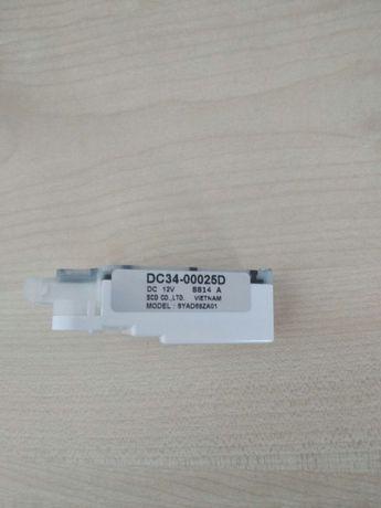 Включатель блокировки двери стиральной машинки Samsung DC34-00025D