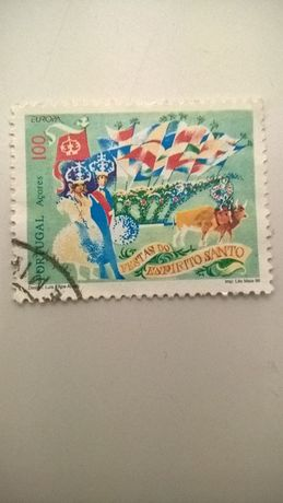 Selo Correio Açores Festas do Espírito Santo (portes incluídos)