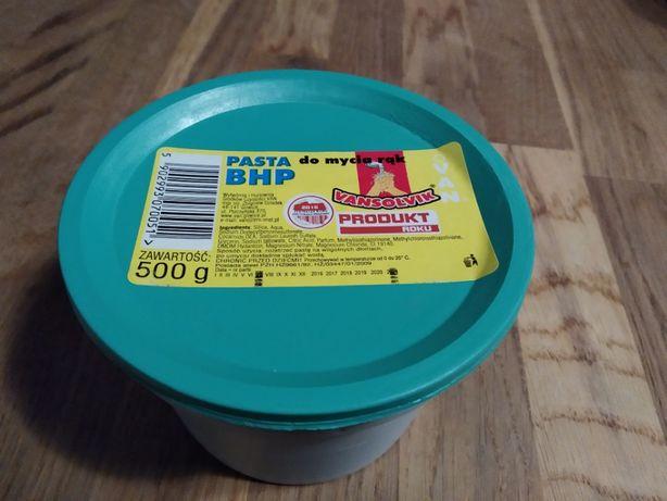 Pasta BHP z piaskiem o zapachu cytrynowym