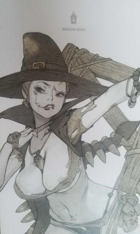 Kingdom Death Monster - Pinup Manhunter Female