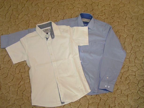 Рубашки длинный и короткий рукав р. 134