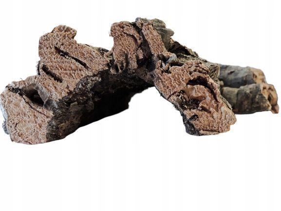 Kora Dębu Korkowego Jaskinia XL 25x12x25 cm TERRARIUM Kurier Wysyłka