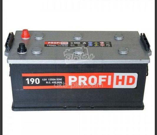 АККУМУЛЯТОР SADA PROFI HD 6СТ-190 (+/-) з безкоштовною доставкою