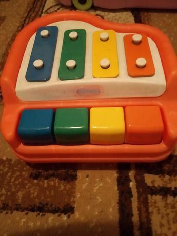 Cymbałki pianino