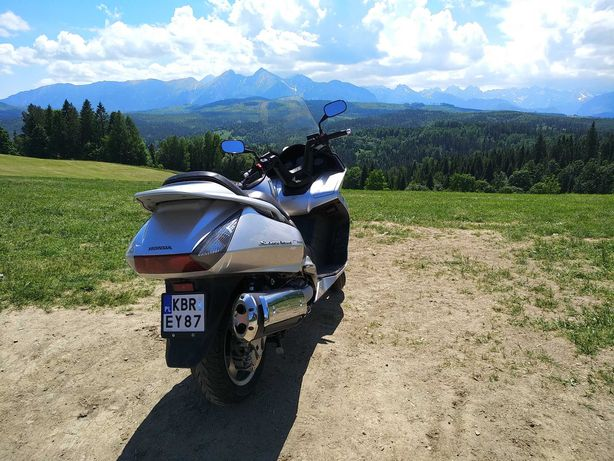 Skuter Honda Silver Wing 600 ABS Immobilizer HISS