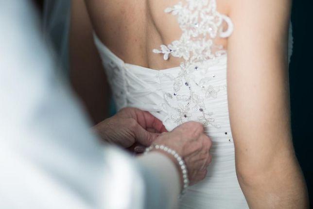 Przepiękna Suknia Ślubna! Tanio!