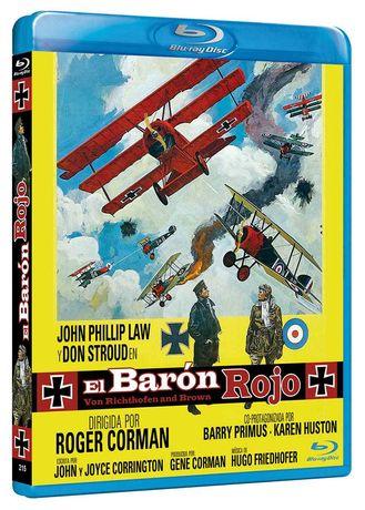 El Barón Rojo/O Barão Vermelho(Blu-Ray)-Importado