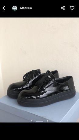 Prada туфли/sneakers размер 37,5