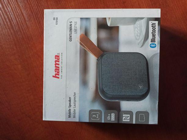 Głośnik Hama Gentleman s bluetooth portable poręczny nowy duża moc