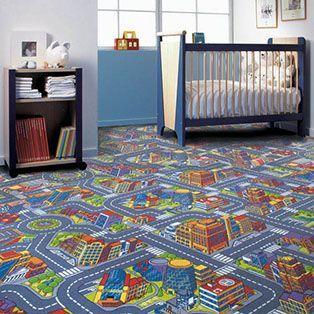 Дорожка ковролин в детскую комнату.