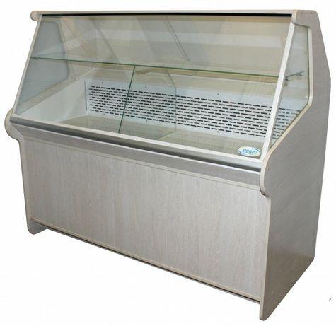 Витрина холодильная ДНIПРОторг  с охлаждаемым боксом