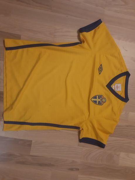 Koszulka Umbro Reprezentacji Szwecji Szwecja pilka nożna rozmiar 152