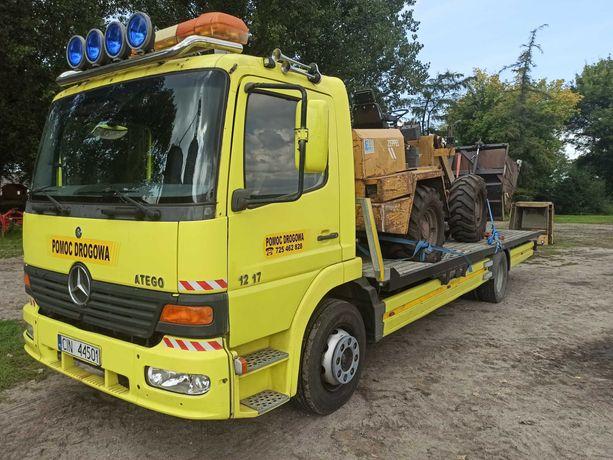 Transport laweta 6T ciągnik maszyna rolnicza różne SUV BUS