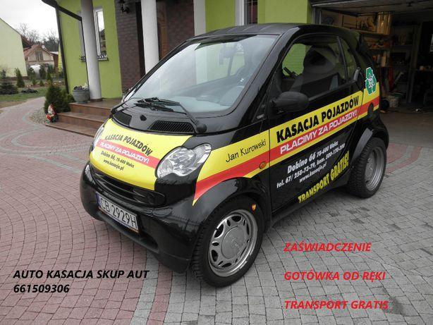 Skup Aut Kasacja Pojazdów Dobino