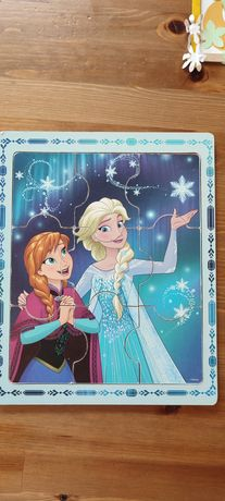 Puzzle z Anną i Elzą, Frozen