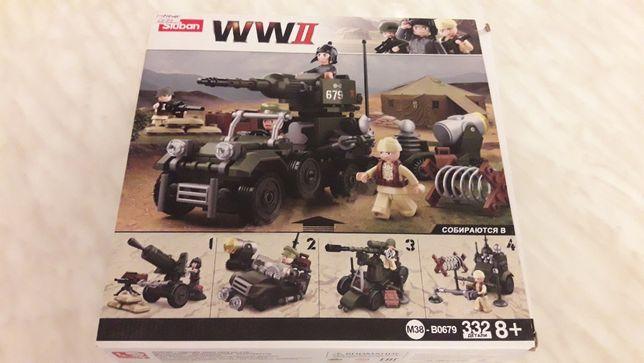 Лего военое 332 детали