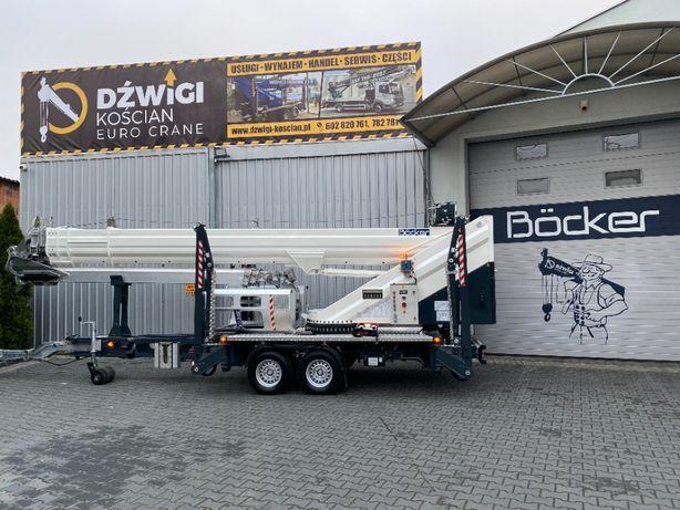 Dźwig dekarski żuraw ciesielski budowlany Bocker AHK 36/2400 Max Opcja
