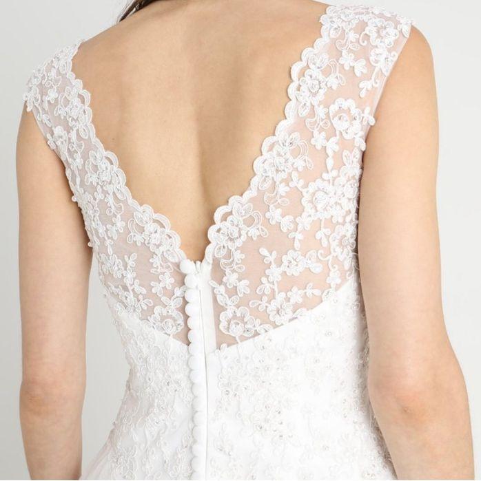 Suknia ślubna 38 Luxuar Fashion nowa Kobylnica - image 1