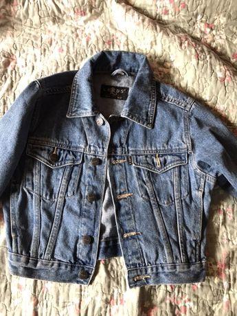 Kurtka kurteczka jeansowa 110 nowa bez metek