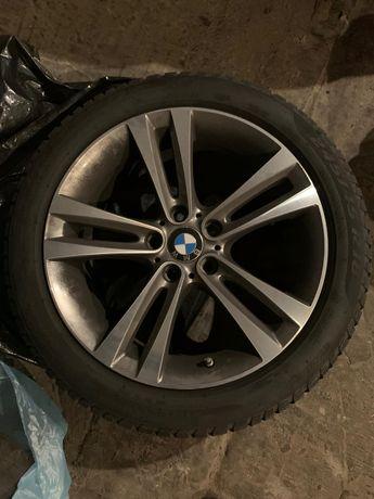 KOŁA BMW felgi+opony zimowe 18 cali 245/45/R18 PIRELLI 4szt runflat