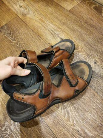Мужские кожаные сандали Clark 42