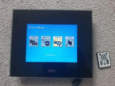 Ramka cyfrowa do zdjęć, filmów, muzyki AOC DF-A81 8cali