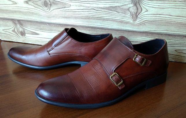 Продам кожаные мужские туфли Tapi