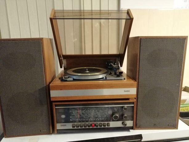 SABA HiFi Studio II A zestaw z gramofonem