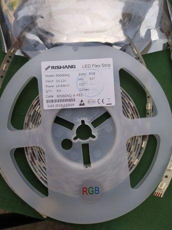 Rishang 5050 Led лента RGB 60 кристаллов/м