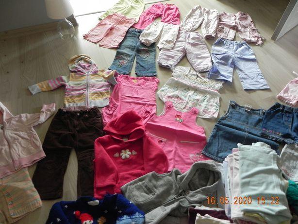 zestaw ubranek dla dziewczynki roz.86 od 1 roku do 1.5 roku