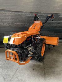 Motocultivador com motor de arranque