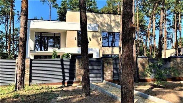 Капитальный и уютный дом VIP- уровня 2021 в стиле HI-TECH в с.Гореничи